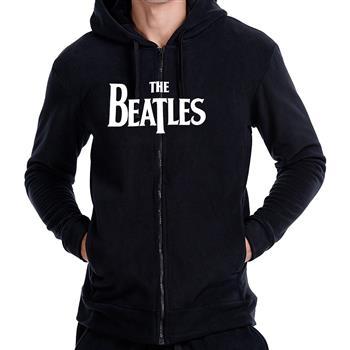 Beatles Logo Zip Hoodie
