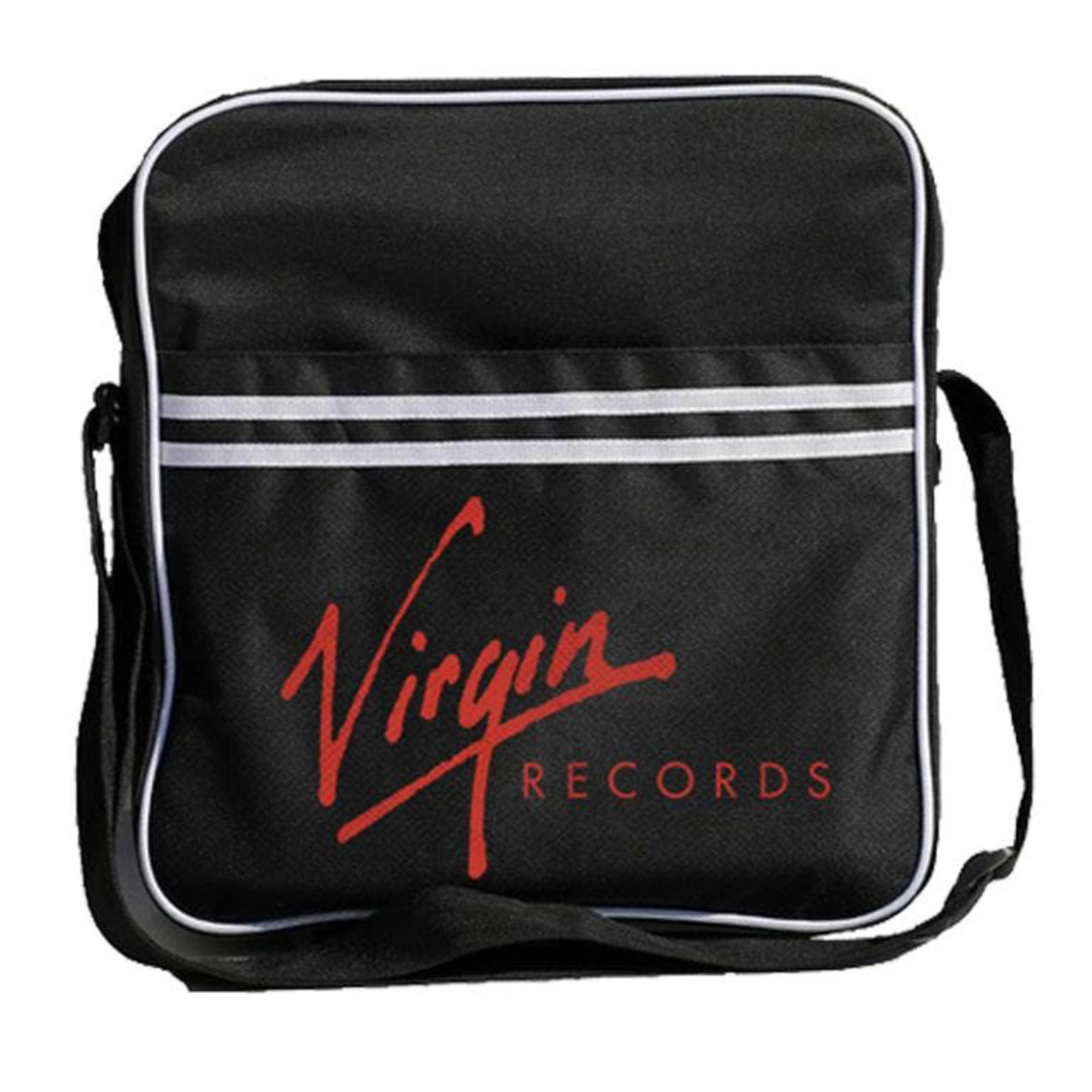 Logo Zip Top Vinyl Bag