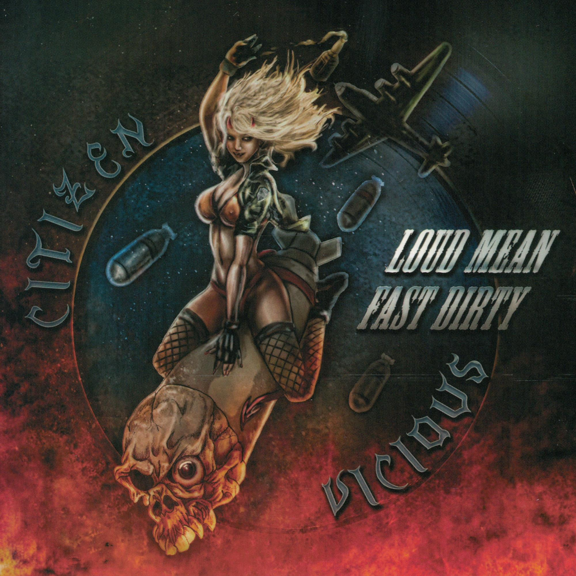 Loud Mean Fast Dirty CD