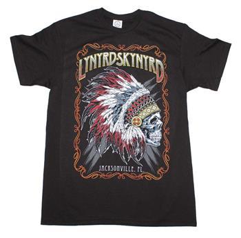 Lynyrd Skynyrd Lynyrd Skynyrd Indian Skeleton T-Shirt