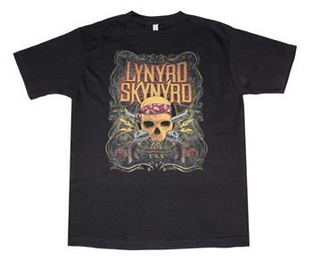 Lynyrd Skynyrd Lynyrd Skynyrd Skull With Gun T-Shirt