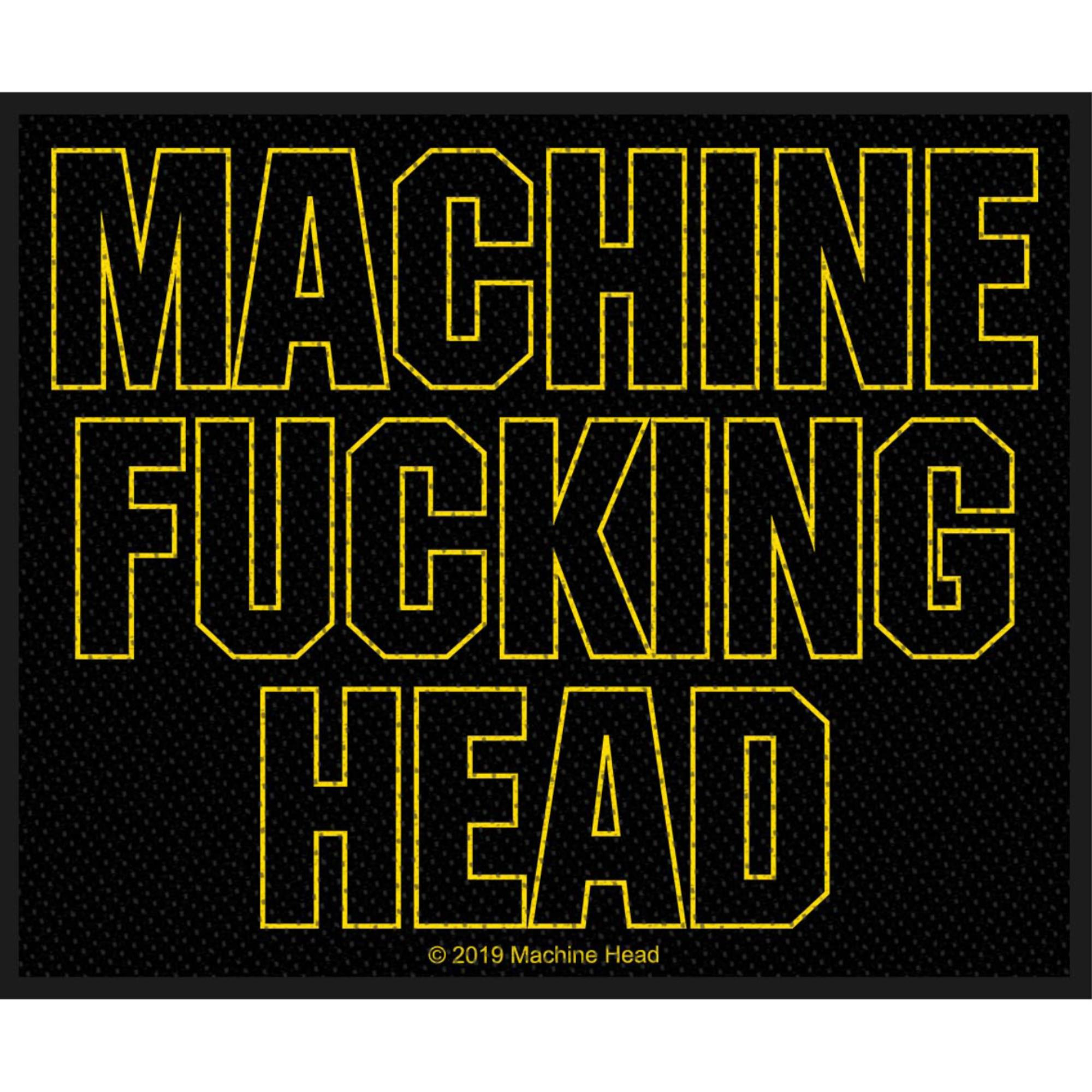 Machine Fucking Head Patch