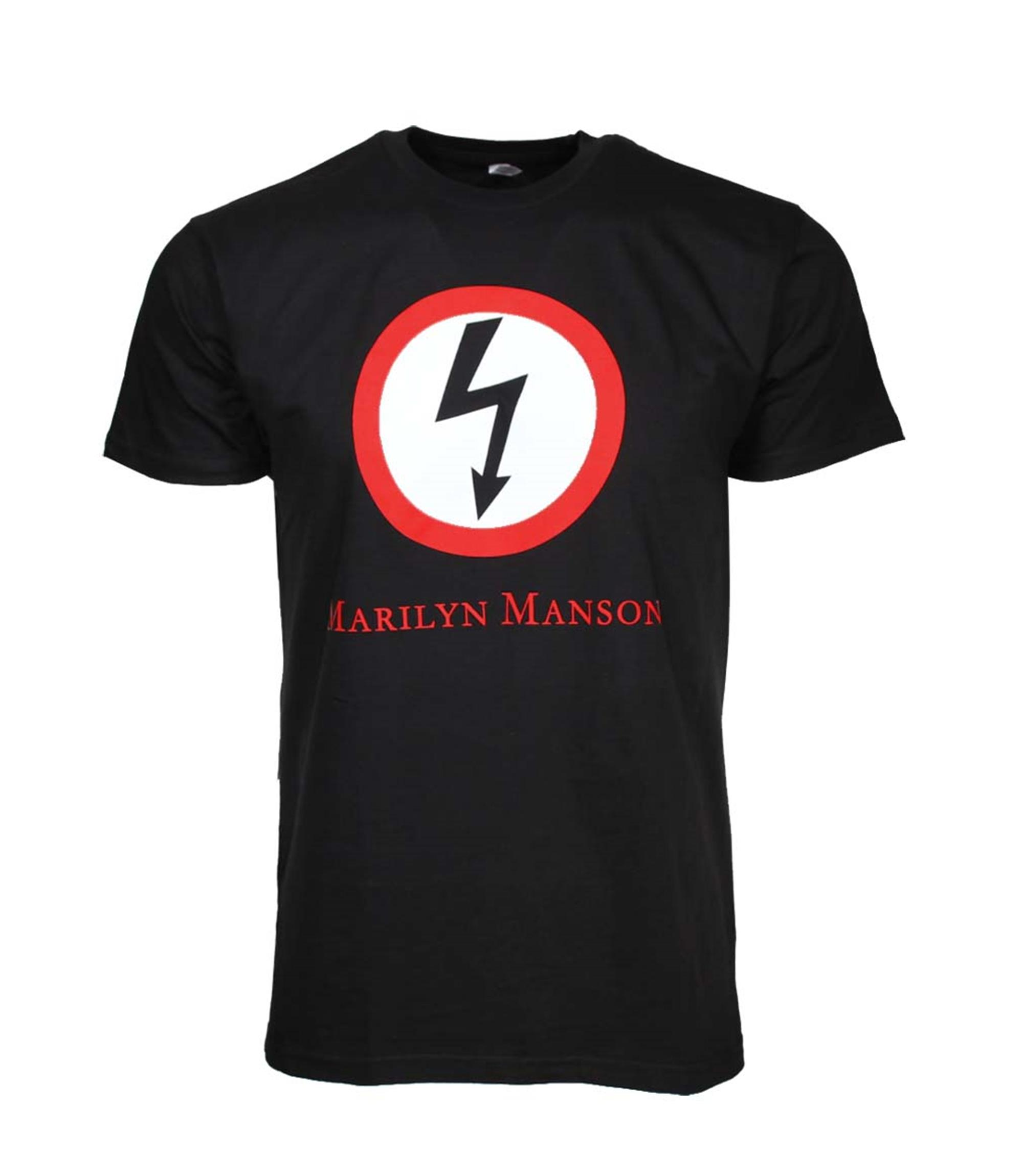 Marilyn Manson Classic Bolt T-Shirt