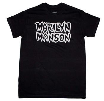 Buy Marilyn Manson Classic Logo T-Shirt by Marilyn Manson