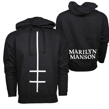 Buy Marilyn Manson Double Cross Sweatshirt by Marilyn Manson