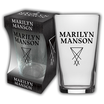 Buy Logo Beer Glass by Marilyn Manson