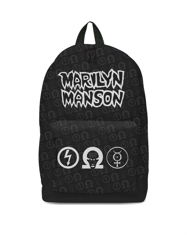 Marilyn Manson Logo Backpack