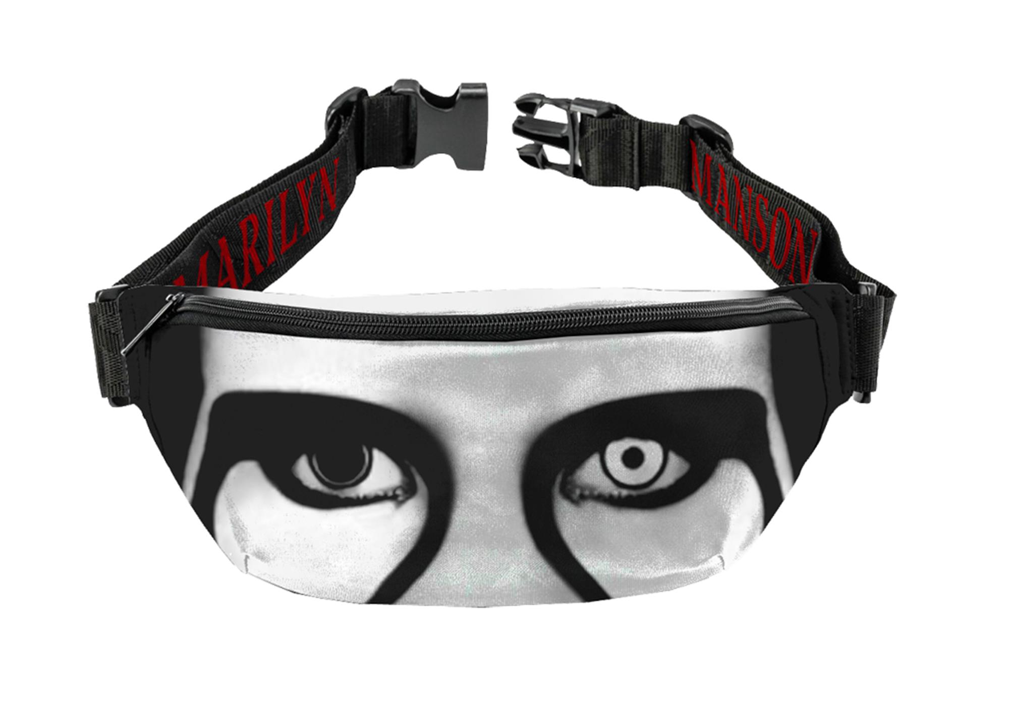 Marilyn Manson Red Lips Fanny Pack