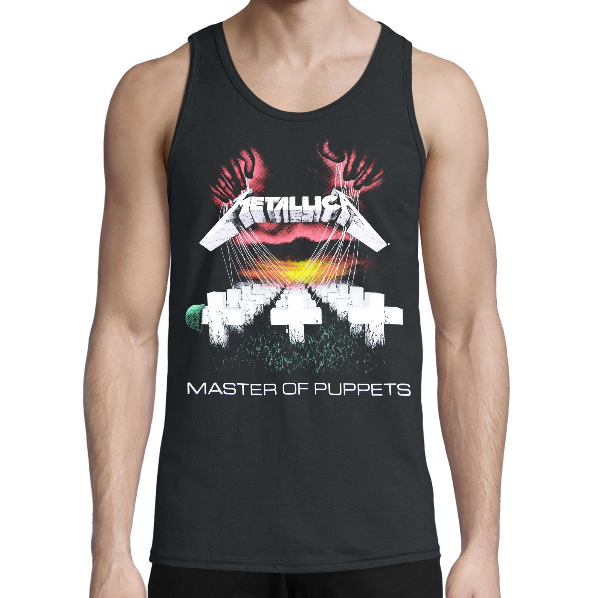 Master Of Puppets Tank Top