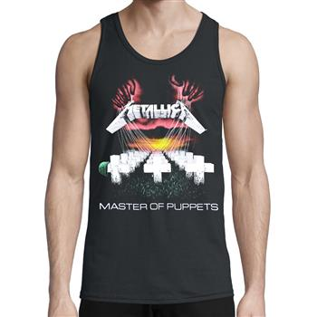 Metallica Master Of Puppets Tank Top