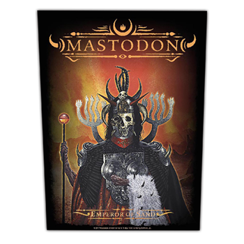 Mastodon Emperor Of Sand Backpatch