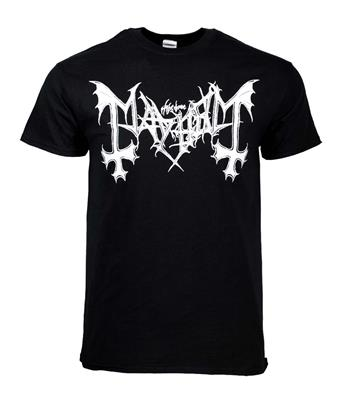 Buy Mayhem Logo T-Shirt by Mayhem