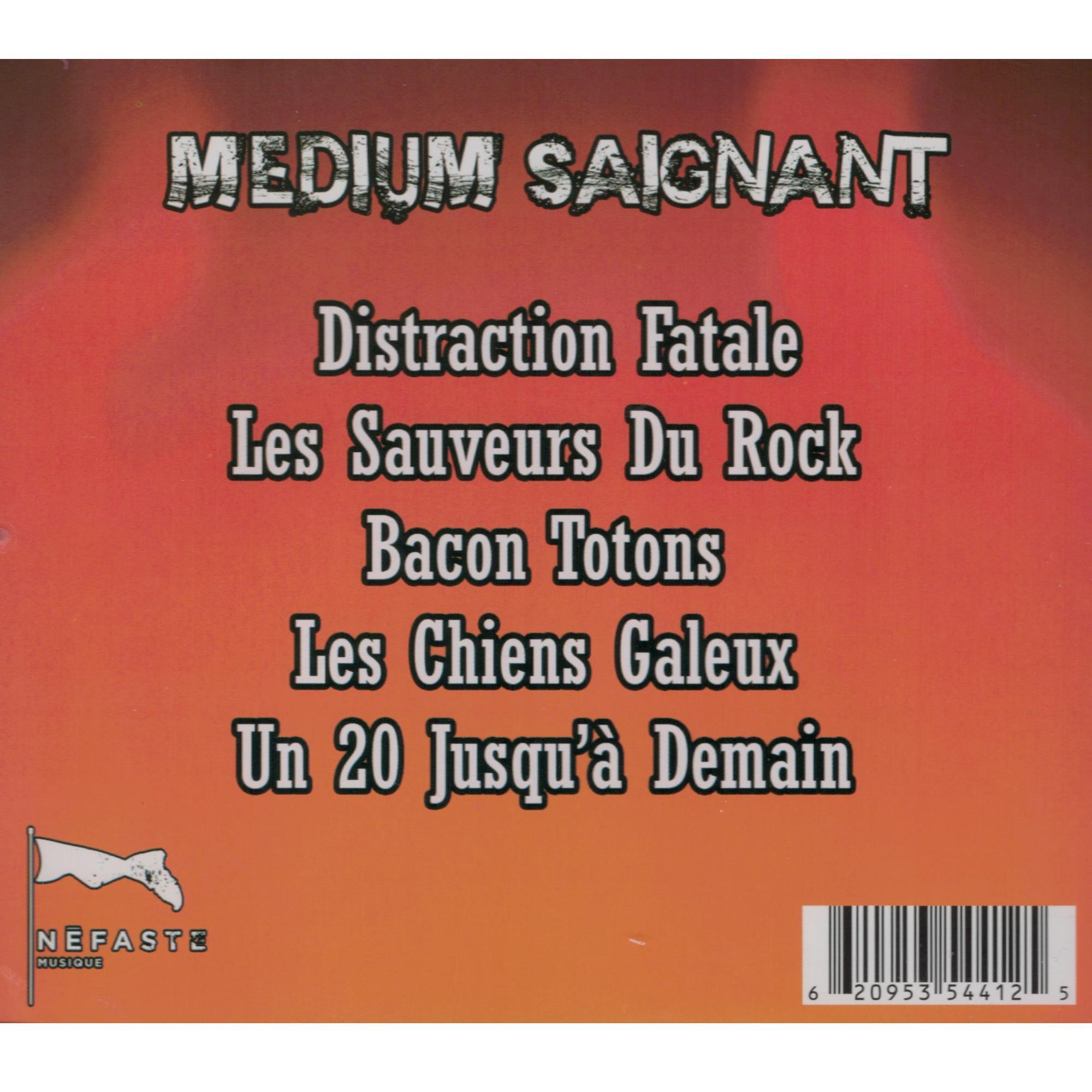 Medium Saignant CD