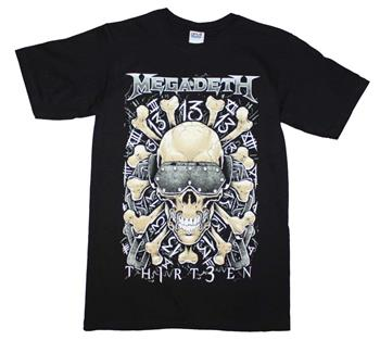 Megadeth Megadeth Red Bones Regular T-Shirt