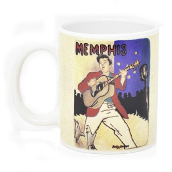 Buy Memphis Mug by Elvis Presley