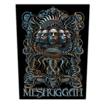 Buy 5 Faces Patch by Meshuggah