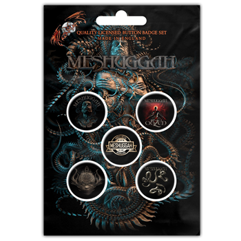 Meshuggah The Violent Sleep Button Pin Set