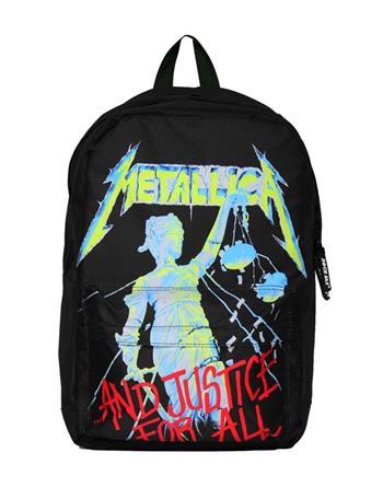 Metallica Metallica And Justice for All Classic Backpack