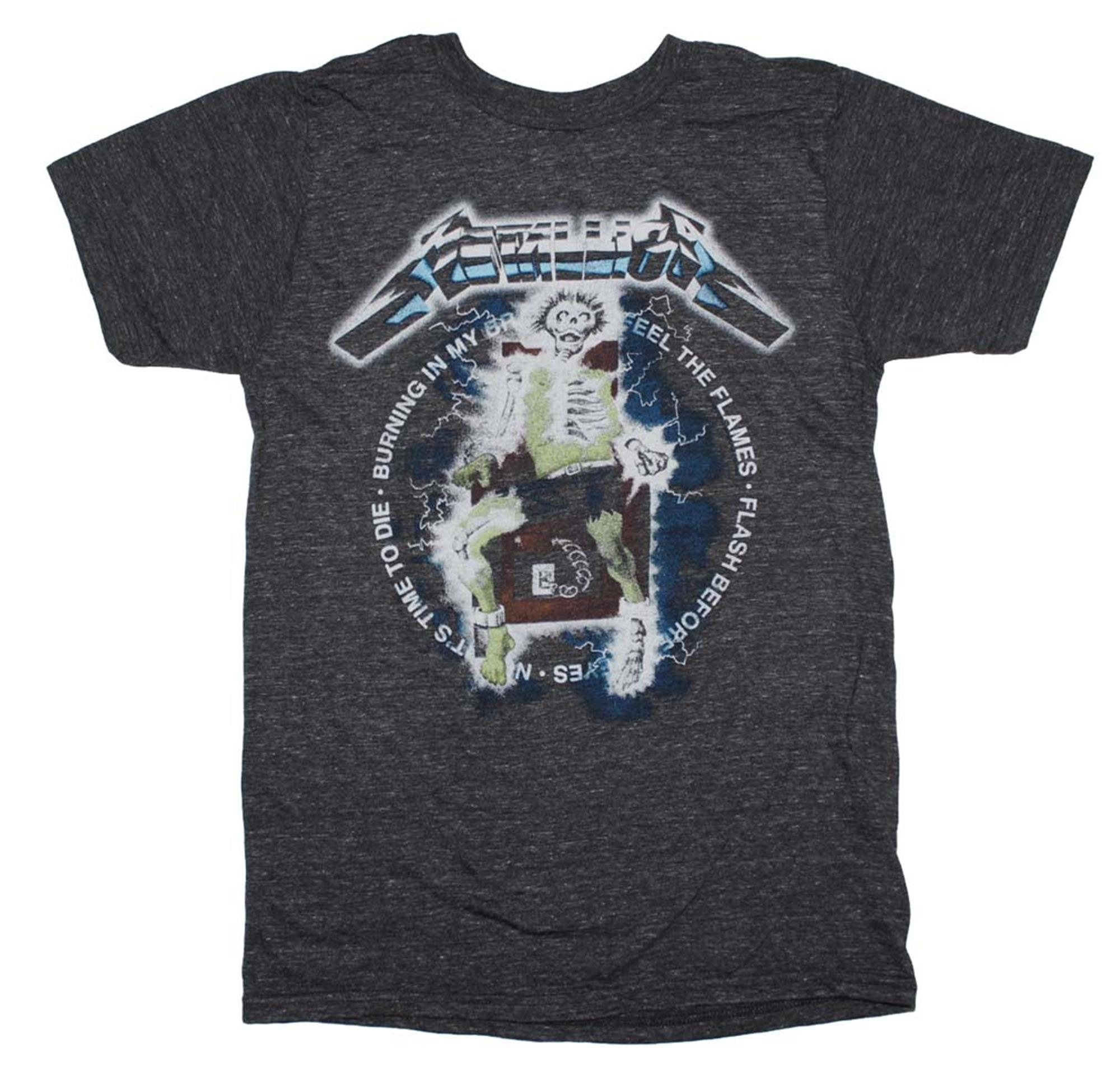 Metallica Electric Chair Heather T-Shirt