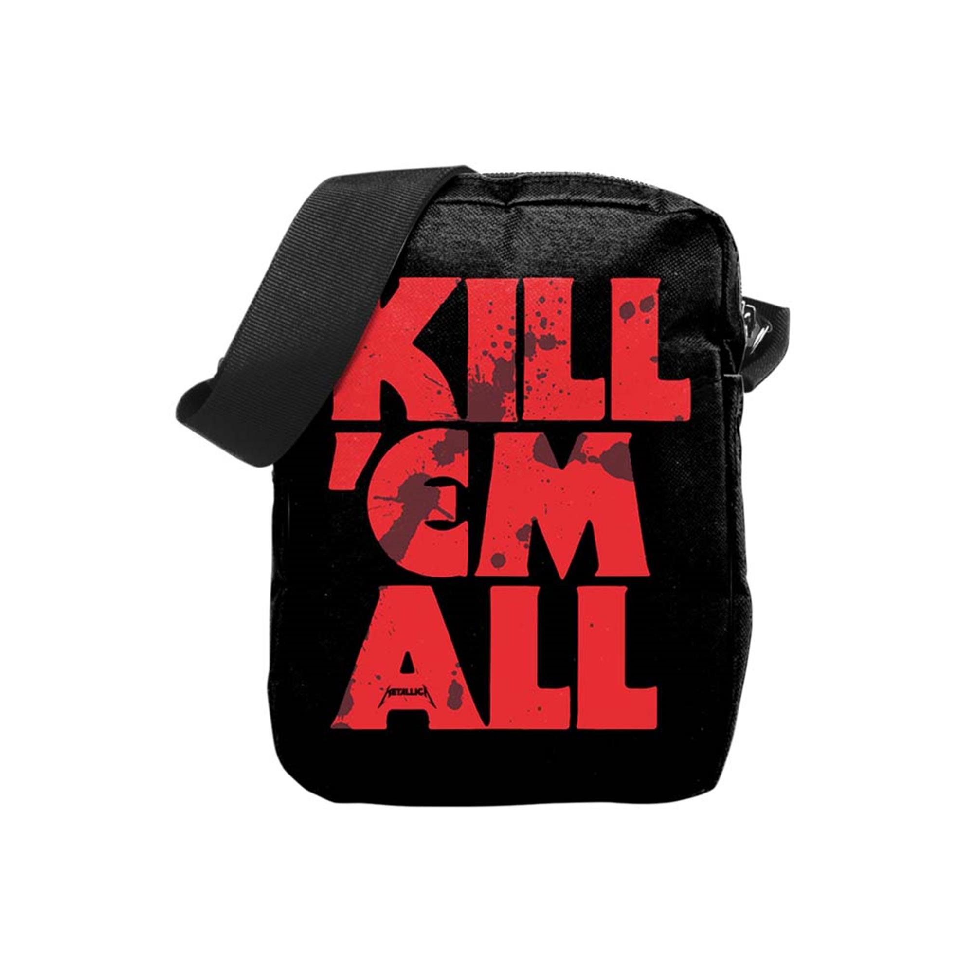 Metallica Kill Em All Blood Crossbody Bag