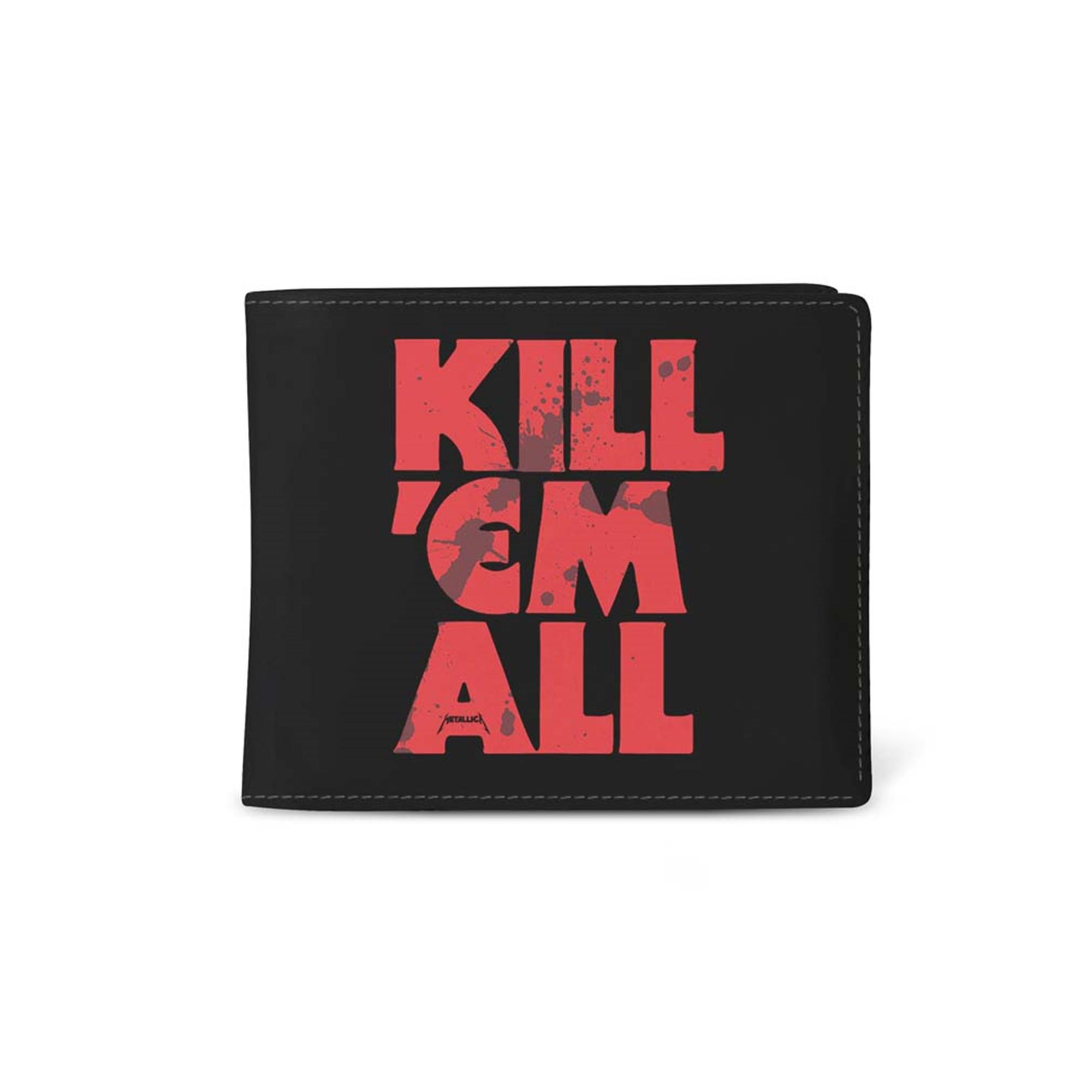 Metallica Kill Em All Blood Wallet