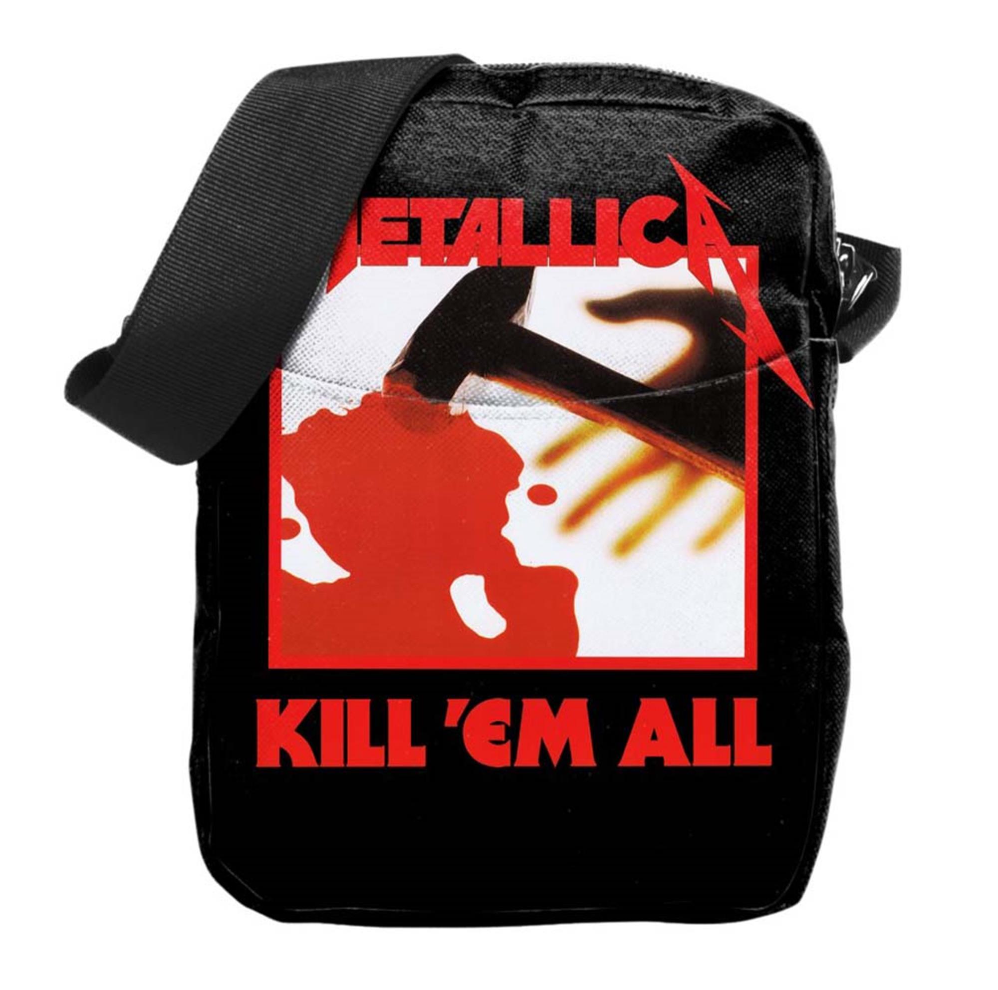 Metallica Kill Em All Cross Body Bag