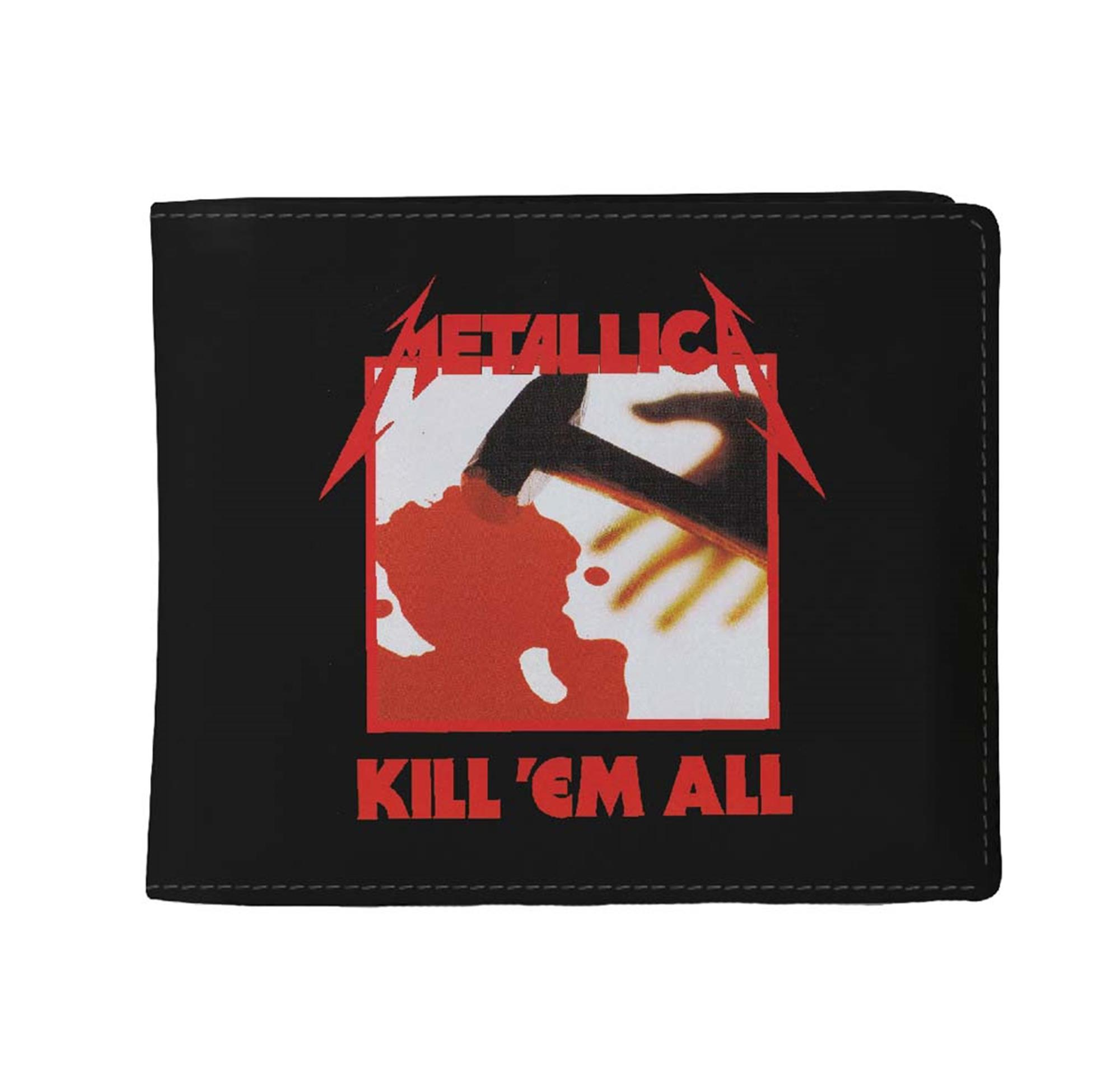 Metallica Kill Em All Wallet