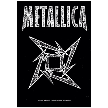 Buy Ninja Star Logo by Metallica