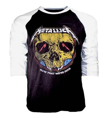 Buy Metallica Now that We're Dead Raglan Sleeve Shirt by Metallica