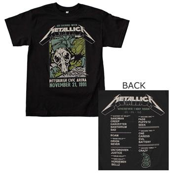 Buy Metallica Pittsburgh Arena T-Shirt by Metallica