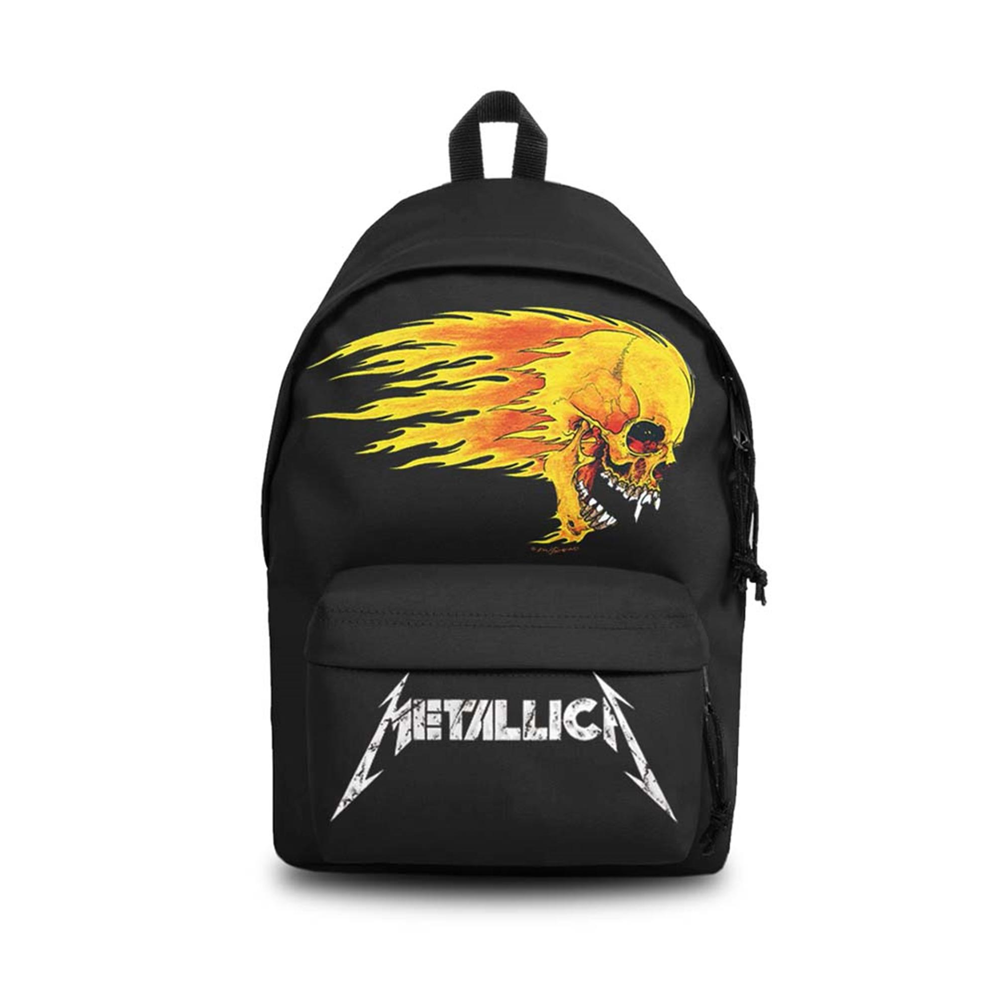 Metallica Pushead Flame Daypack