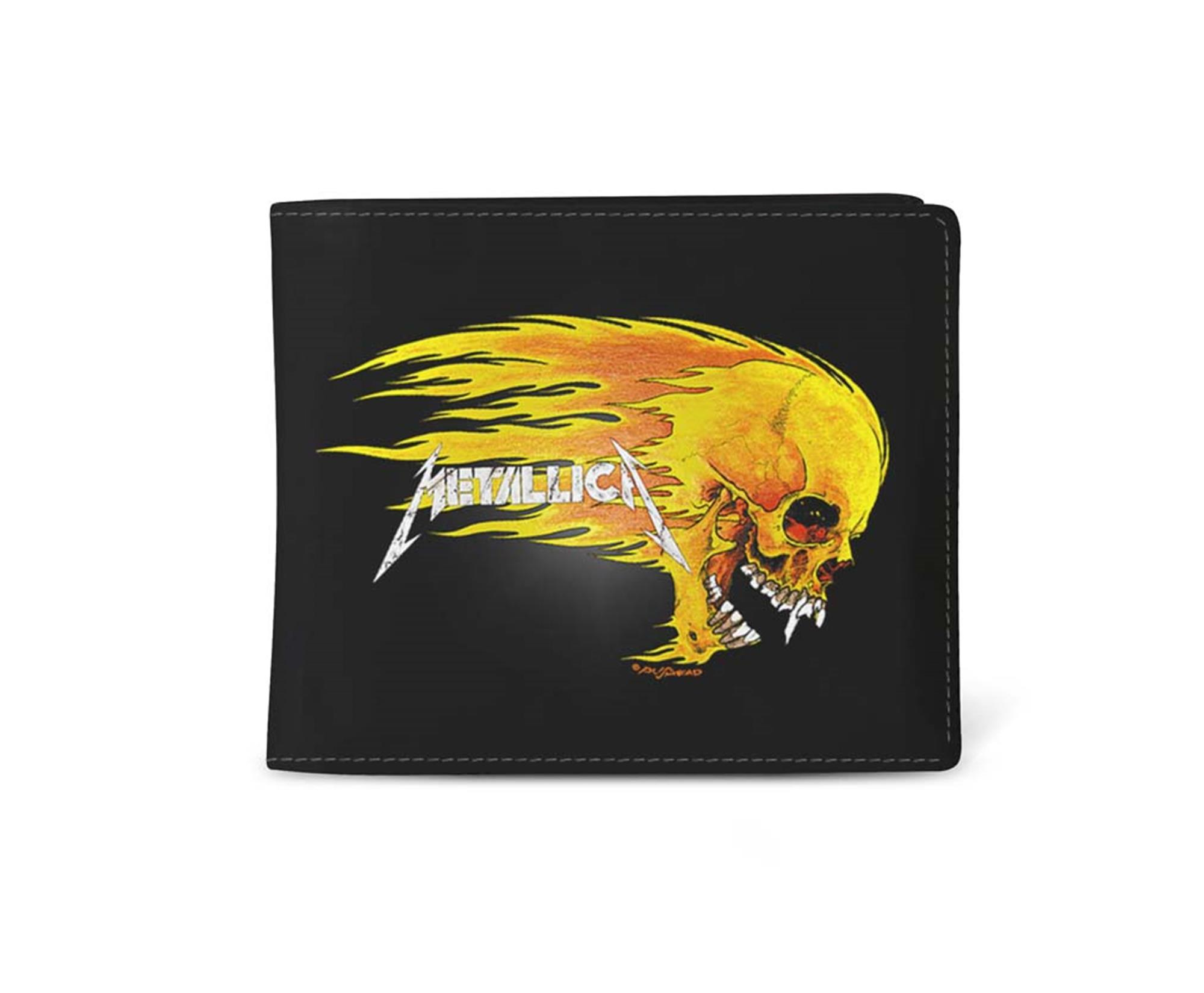 Metallica Pushead Flame Wallet