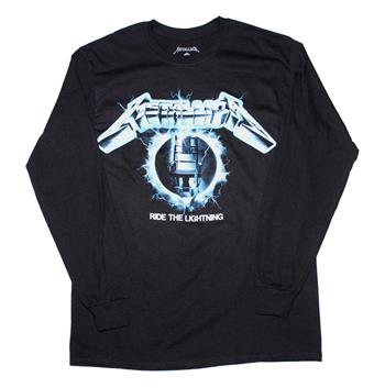 Buy Metallica Ride the Lightning Long Sleeve T-Shirt by Metallica