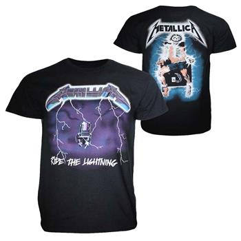 Buy Metallica Ride the Lightning T-Shirt by Metallica