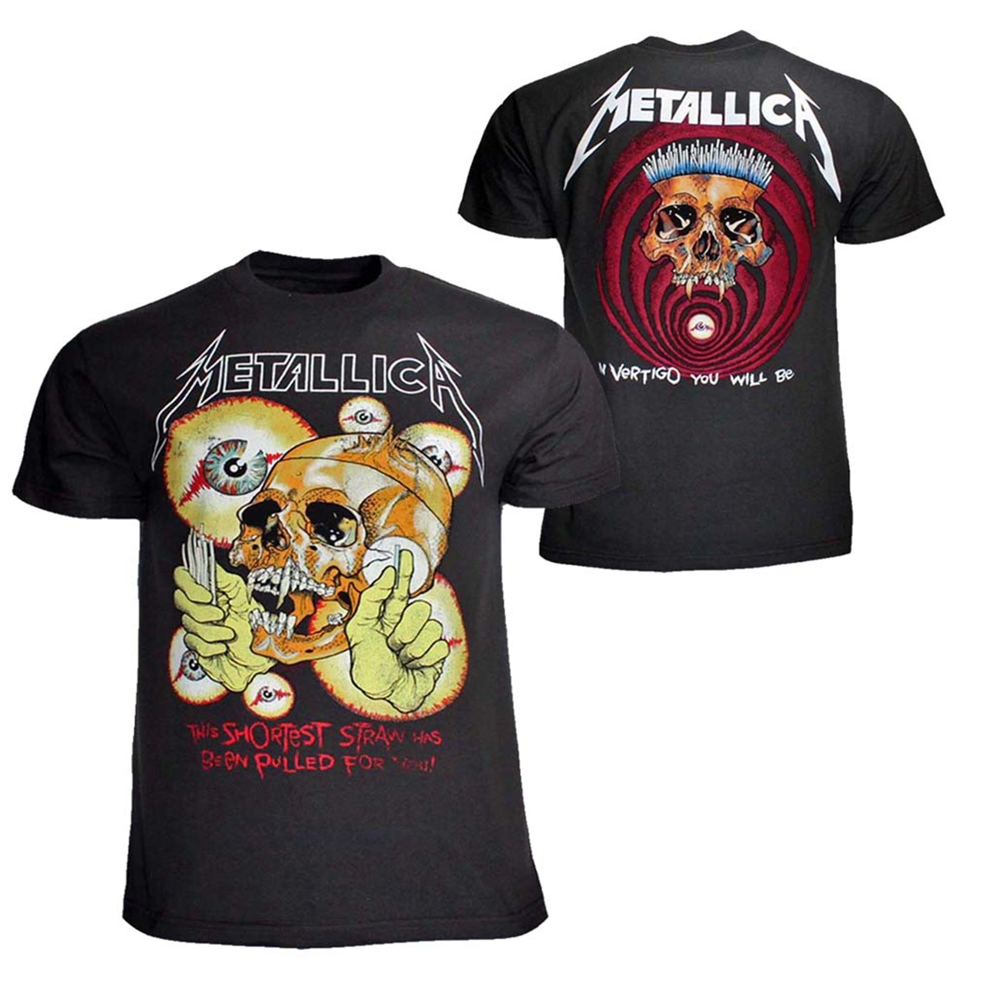Metallica Shortest Straw T-Shirt
