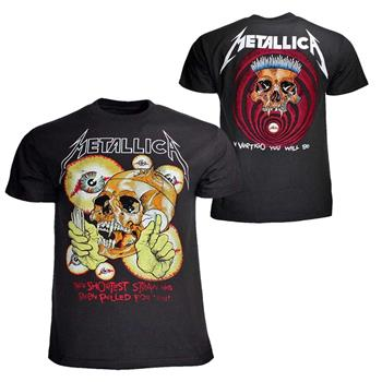 Buy Metallica Shortest Straw T-Shirt by Metallica