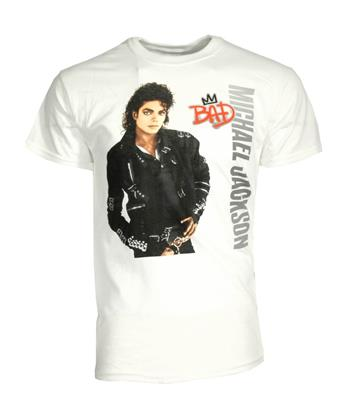 Michael Jackson Michael Jackson Bad Crown  T-Shirt