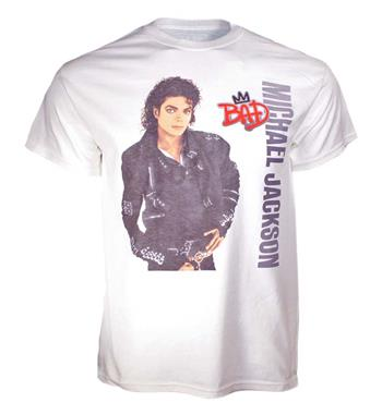 Buy Michael Jackson Bad Crown  T-Shirt by Michael Jackson