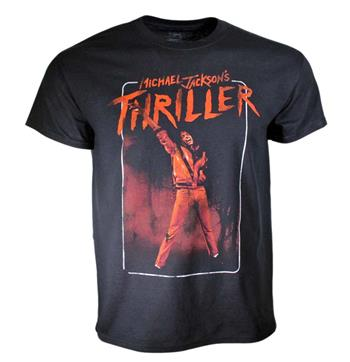 Michael Jackson Michael Jackson Thriller Arm Up Black  T-Shirt