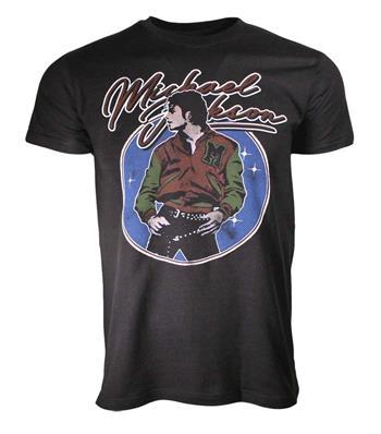 Michael Jackson Michael Jackson Varsity Jacket T-Shirt T-Shirt