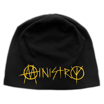 Buy Logo Discharge Beanie by Ministry