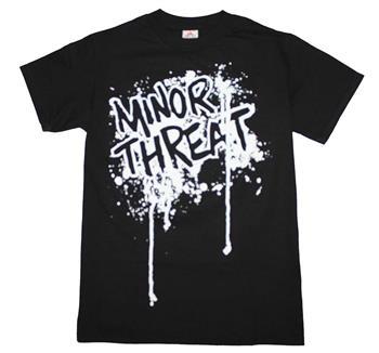 Minor Threat Minor Threat Drip Logo T-Shirt