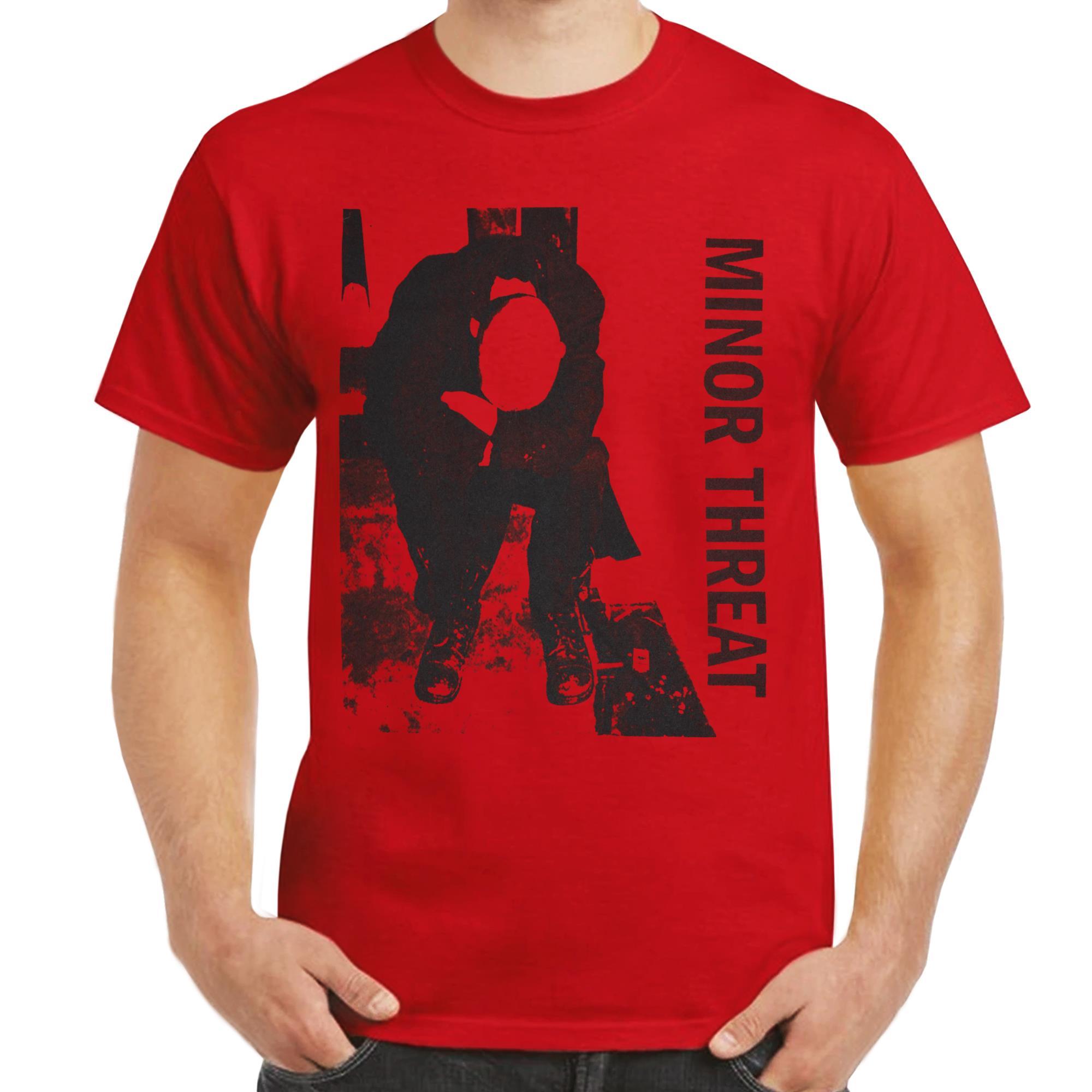 Minor Threat LP T-shirt