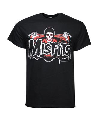 Buy Misfits Batfiend Red T-Shirt by Misfits