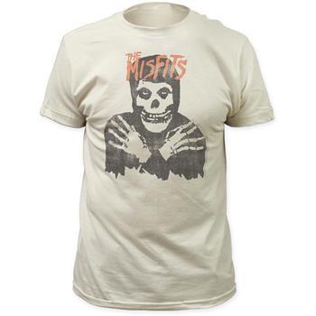 Misfits Misfits Classic Skull Distressed Print T-Shirt