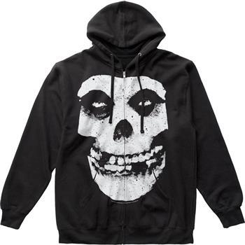 Buy Misfits Fiend Skull Zip Hoodie Sweatshirt by Misfits