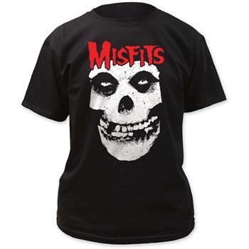 Misfits Red Skull Logo Misfits T-Shirt