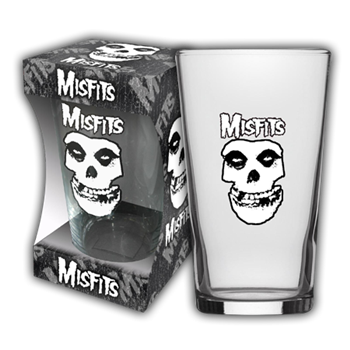 Buy Skull Beer Glass by Misfits
