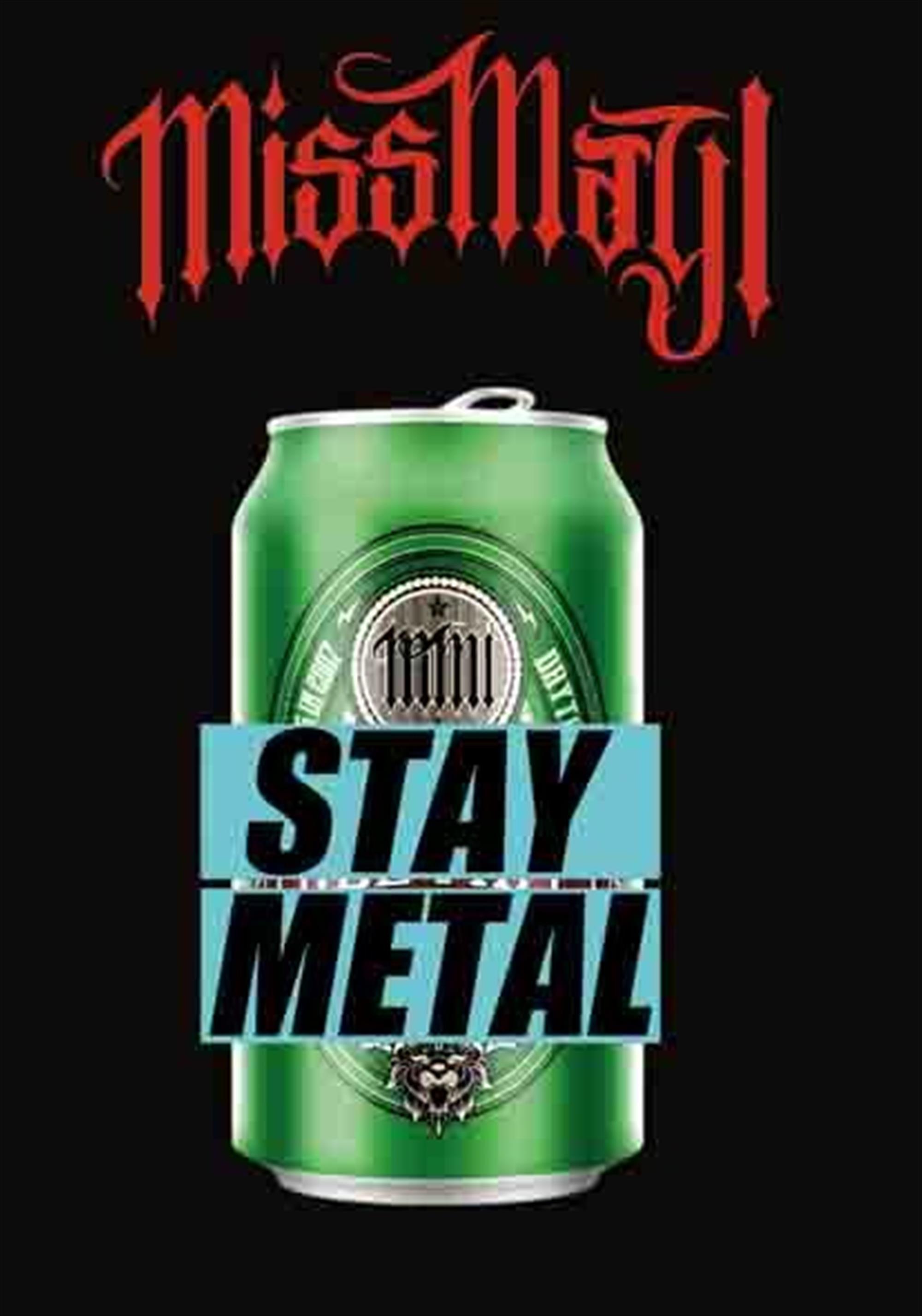 Stay Metal Flag