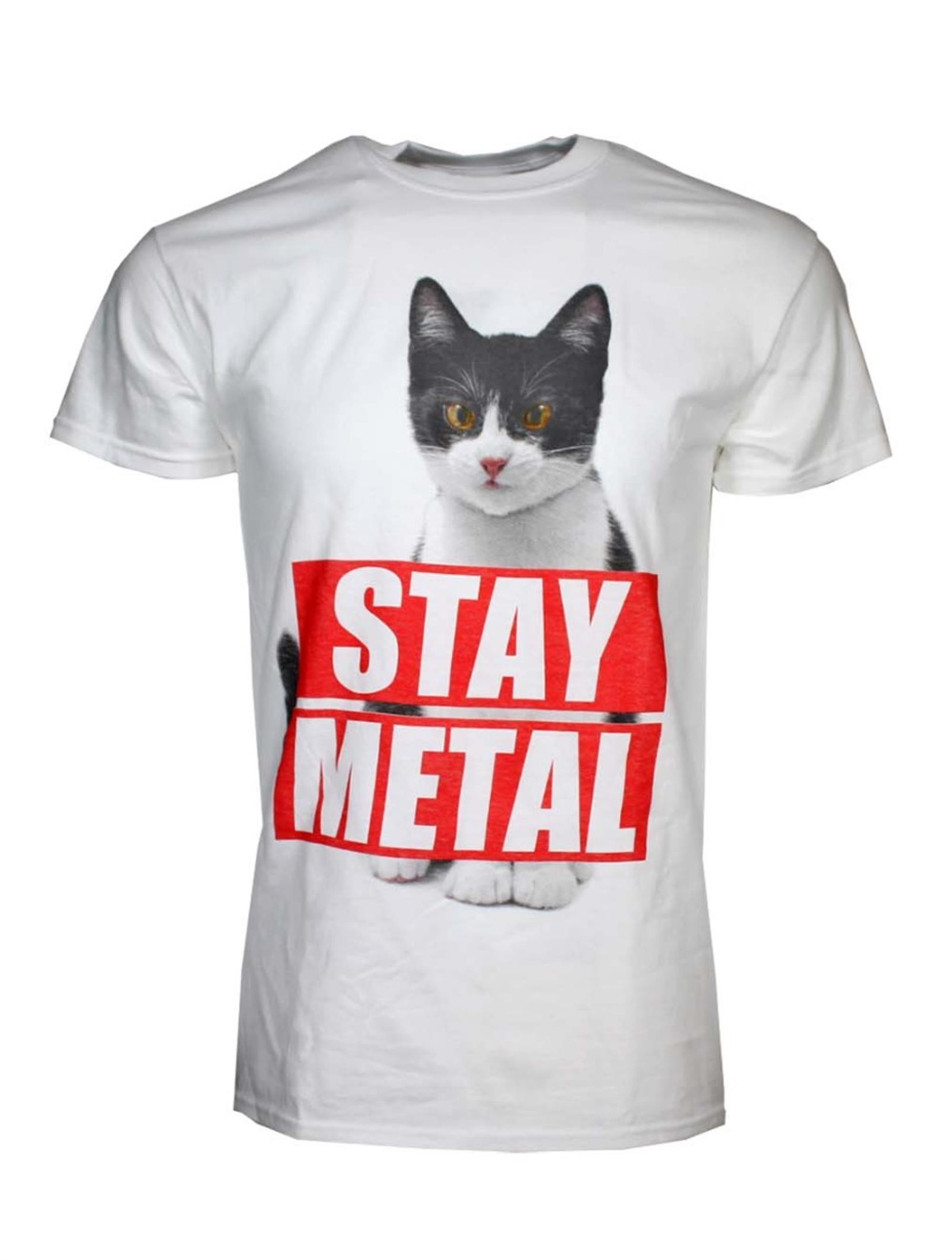 Miss May I Stay Metal Cat T-Shirt